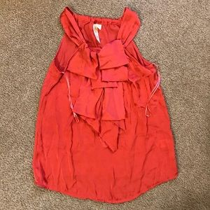 Ruffle Blouse Size Medium